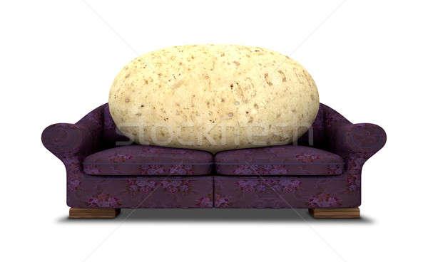 Couch Potato Stock photo © albund