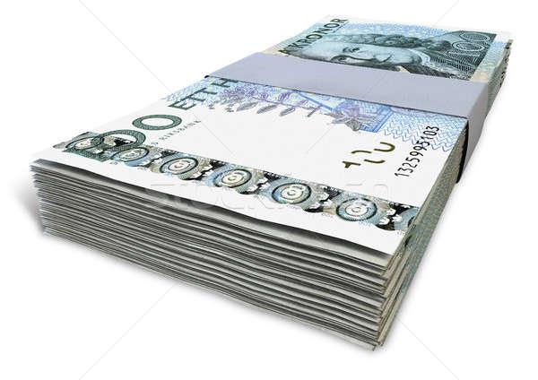 Swedish Krona Notes Bundles Stock photo © albund