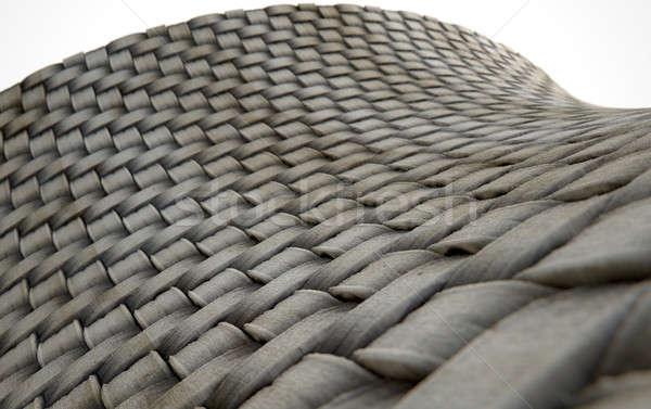 Micro tejido sucia 3d microscópico vista Foto stock © albund