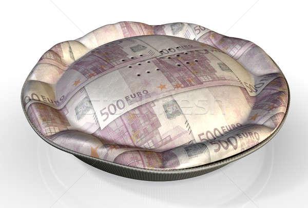 Money Pie Euro Stock photo © albund
