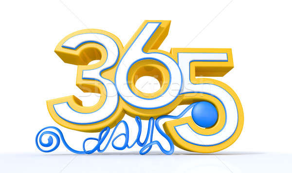 Three Hundred And Sixty Five Days Stock photo © albund