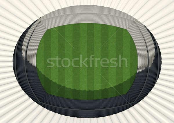 Generic Stadium Day Stock photo © albund