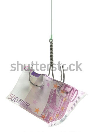 Generic Banknote Baited Hook Stock photo © albund