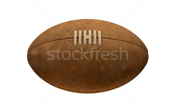 Old Classic Retro Rugby Ball Stock photo © albund