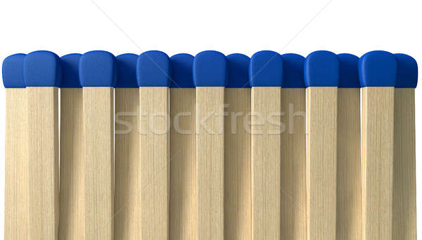 Book Of Open Matches Stock photo © albund