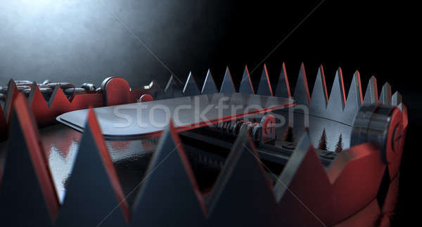 Animal Trap Dramatic Stock photo © albund