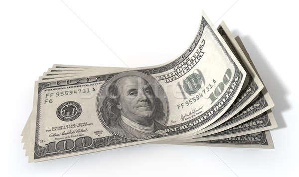 доллара банка отмечает группа пять Сток-фото © albund