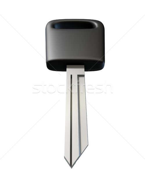 Uncut Car Key  Stock photo © albund