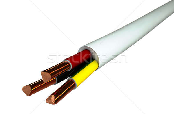 Electrical Cable Stock photo © albund