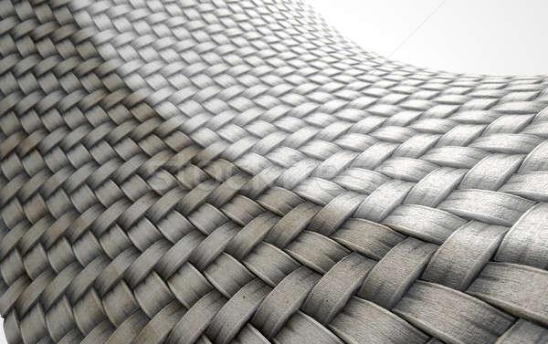 Micro Fabric Weave Comparison Stock photo © albund