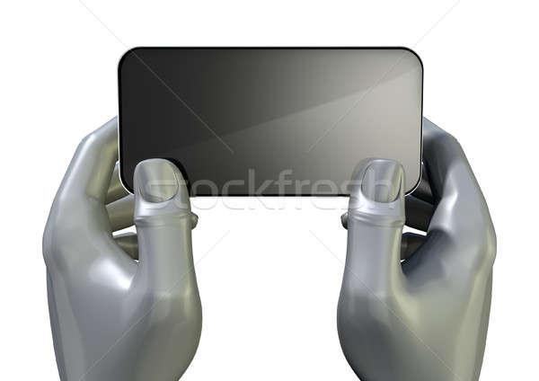 Photo stock: Mains · générique · paire · gris