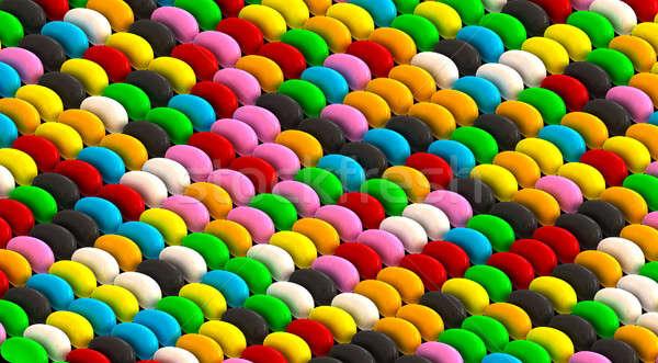Jelly Bean Pattern Stock photo © albund