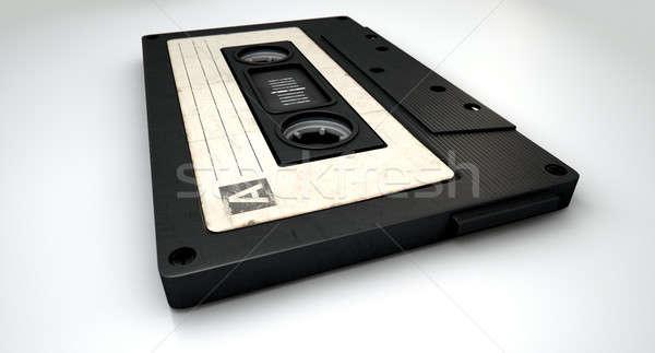 Audio Cassette Tape Stock photo © albund
