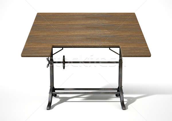 Drafting Table Stock photo © albund