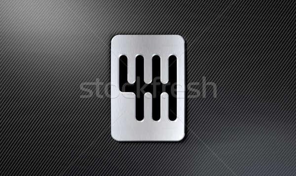 Gear Stick Shift Plate Stock photo © albund