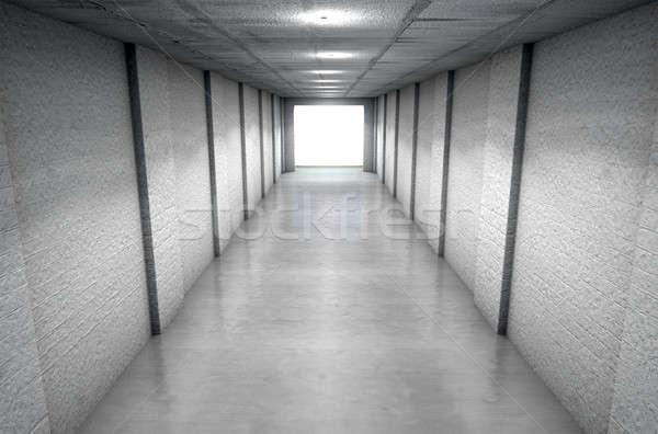 Sports Stadium Tunnel Stock photo © albund