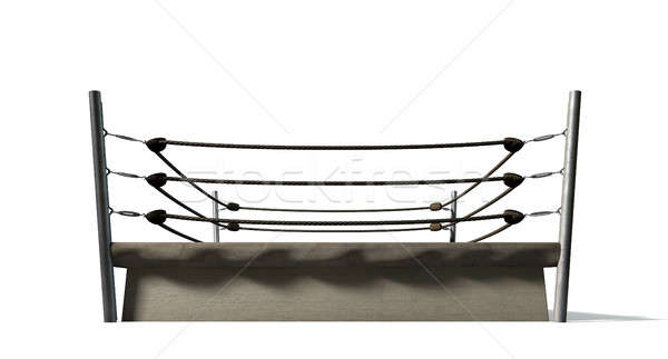 Classic Vintage Boxing Ring Stock photo © albund