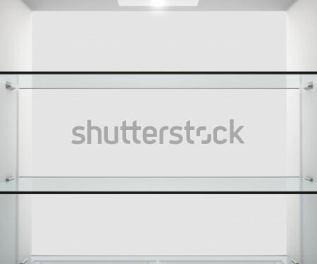 Fridge Interior Stock photo © albund