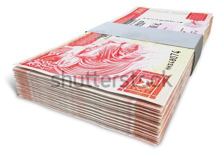 Canadian Dollar Notes Bundles Stock photo © albund