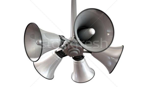 Duda hangfalak akasztás kilátás tömb öt Stock fotó © albund