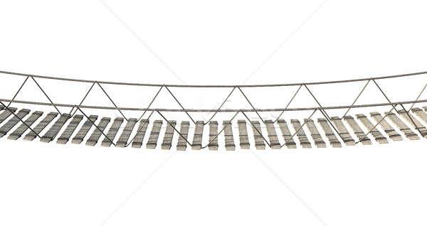 Rope Bridge Stock photo © albund