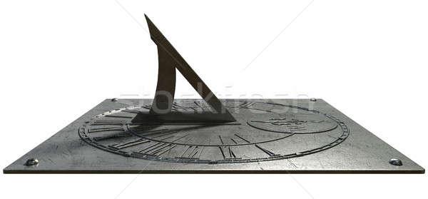 Stock photo: Sundial