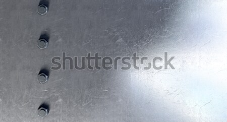 Bolts On a Metal Surface Stock photo © albund