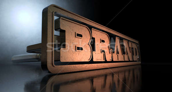 Branding Brand Concept Stock photo © albund