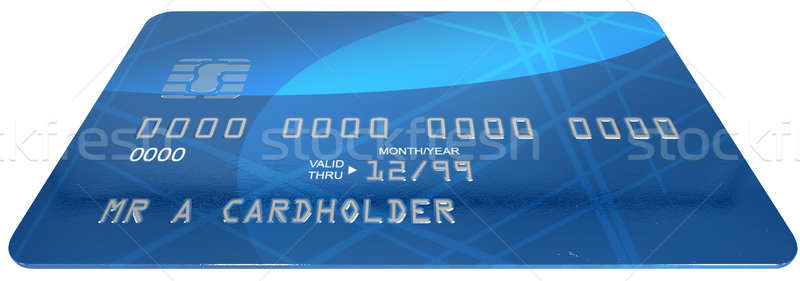 Generic Credit Card Stock photo © albund