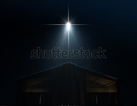 Abstract Nativity Scene Stock photo © albund