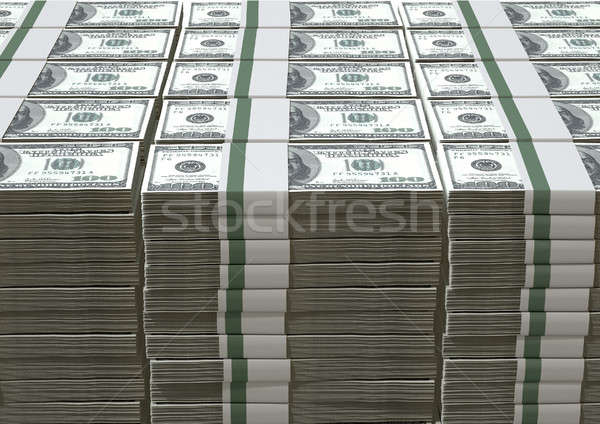 US Dollar Notes Pile Stock photo © albund