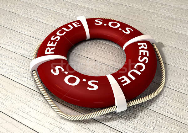 Stock photo: Rescue Lifebuoy