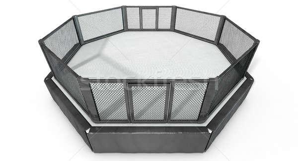 MMA Cage Stock photo © albund