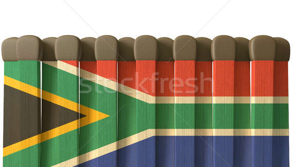 South African Matches Concept Stock photo © albund