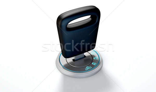 Stock photo: Car Key In Ignition