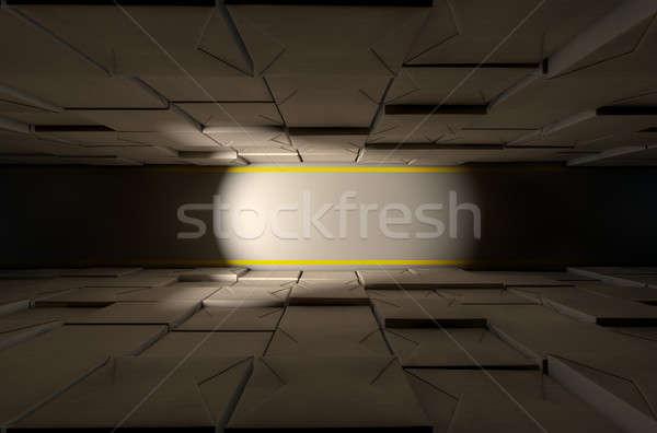 Dozen magazijn direct top Stockfoto © albund