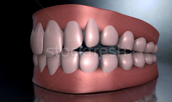 Creepy Teeth  Stock photo © albund
