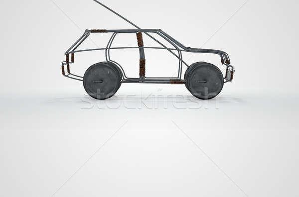 Wire Car Stock photo © albund