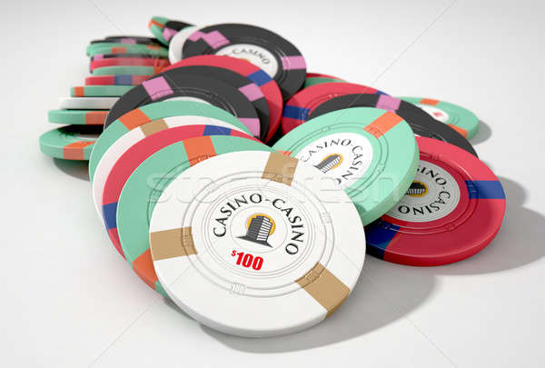 Casino Chips Stock photo © albund