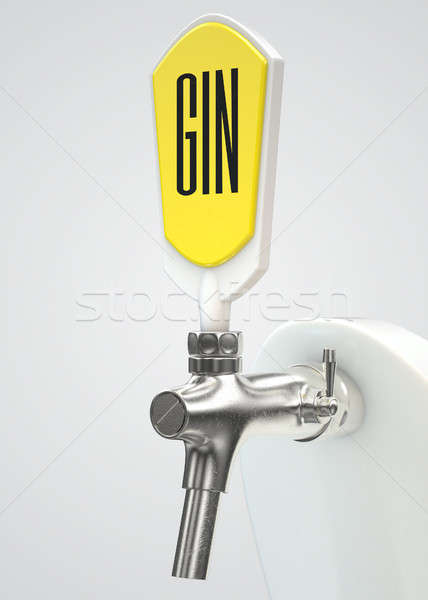 Gin Draught Spigot Stock photo © albund