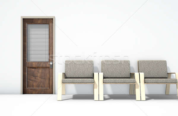 Waiting Room With Chairs Stock photo © albund