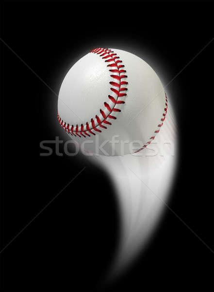 Swooshing Ball Stock photo © albund