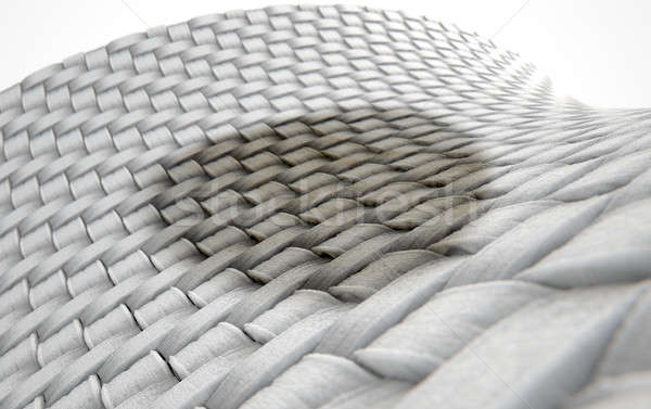 Stock photo: Micro Fabric Weave Stain