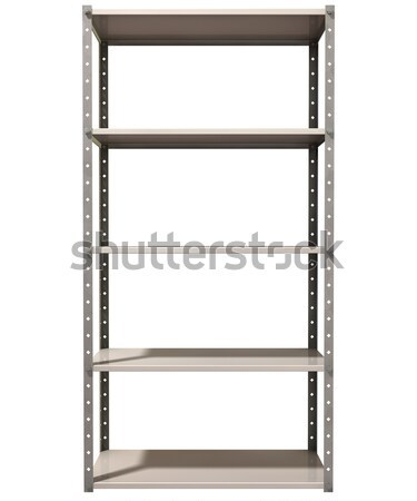 Warehouse Shelf Stock photo © albund