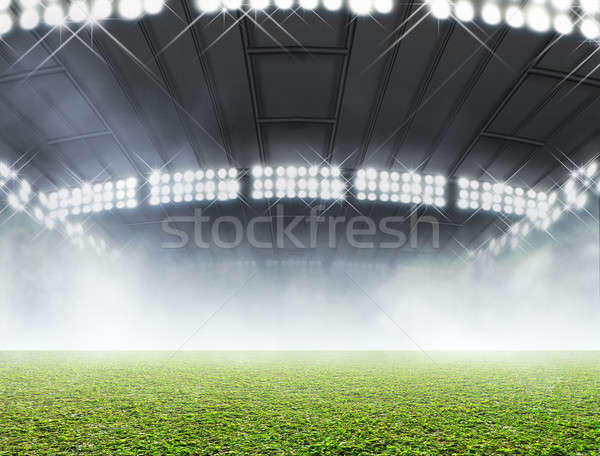 Indoor Stadium Generic Stock photo © albund