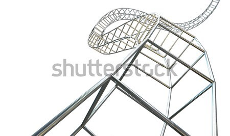Abstract Contruction Spiral Stock photo © albund