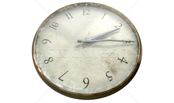 Stock photo: Antique Worn Pocket Watch