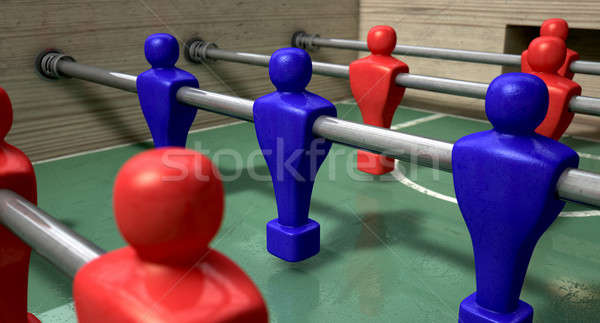 Foosball Table Stock photo © albund