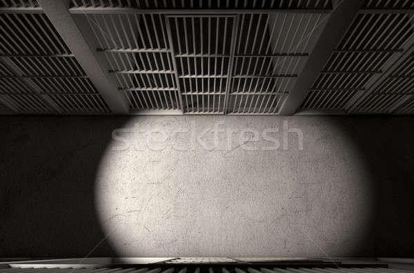 Jail Cell Corridor Top Stock photo © albund