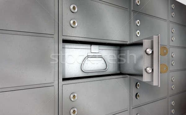 Safety Deposit Boxes Stock photo © albund